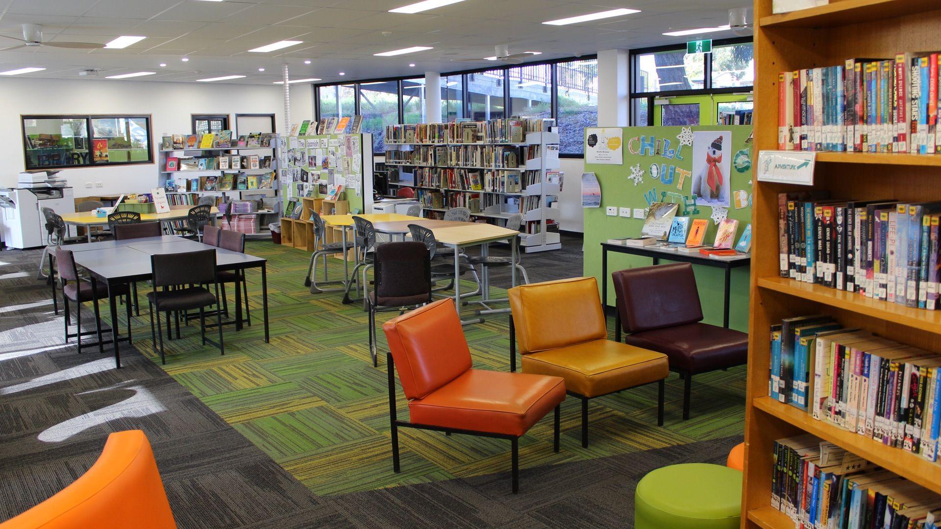 Kyneton High School - School Library