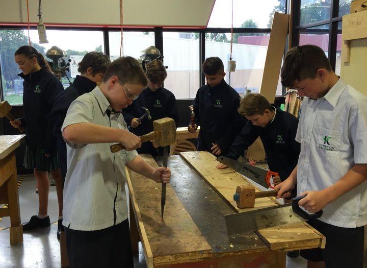 Kyneton High School - Students Working