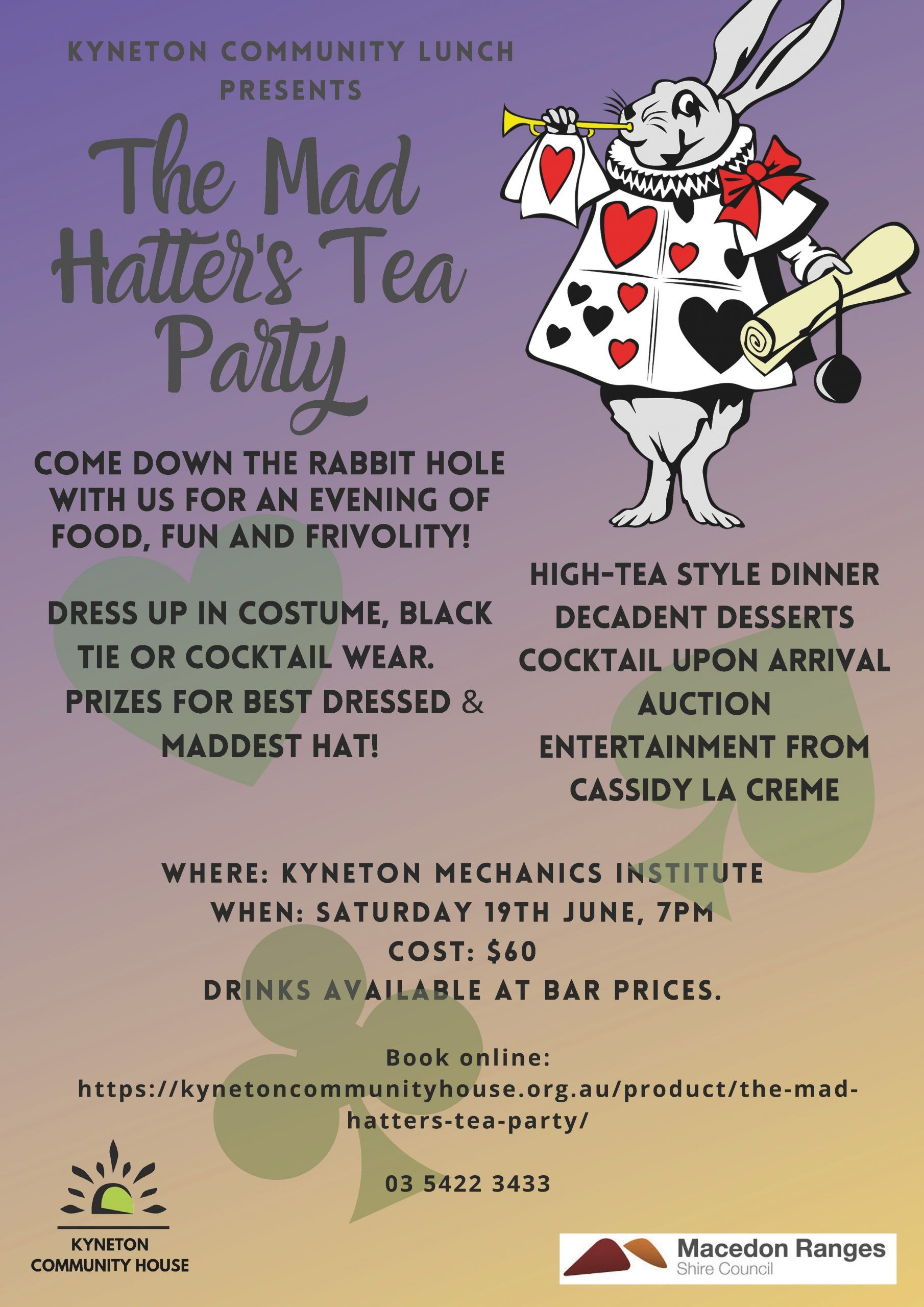 Mad Hatter Tea Party scaled - Kyneton High School - Excellence in Teaching & Learning