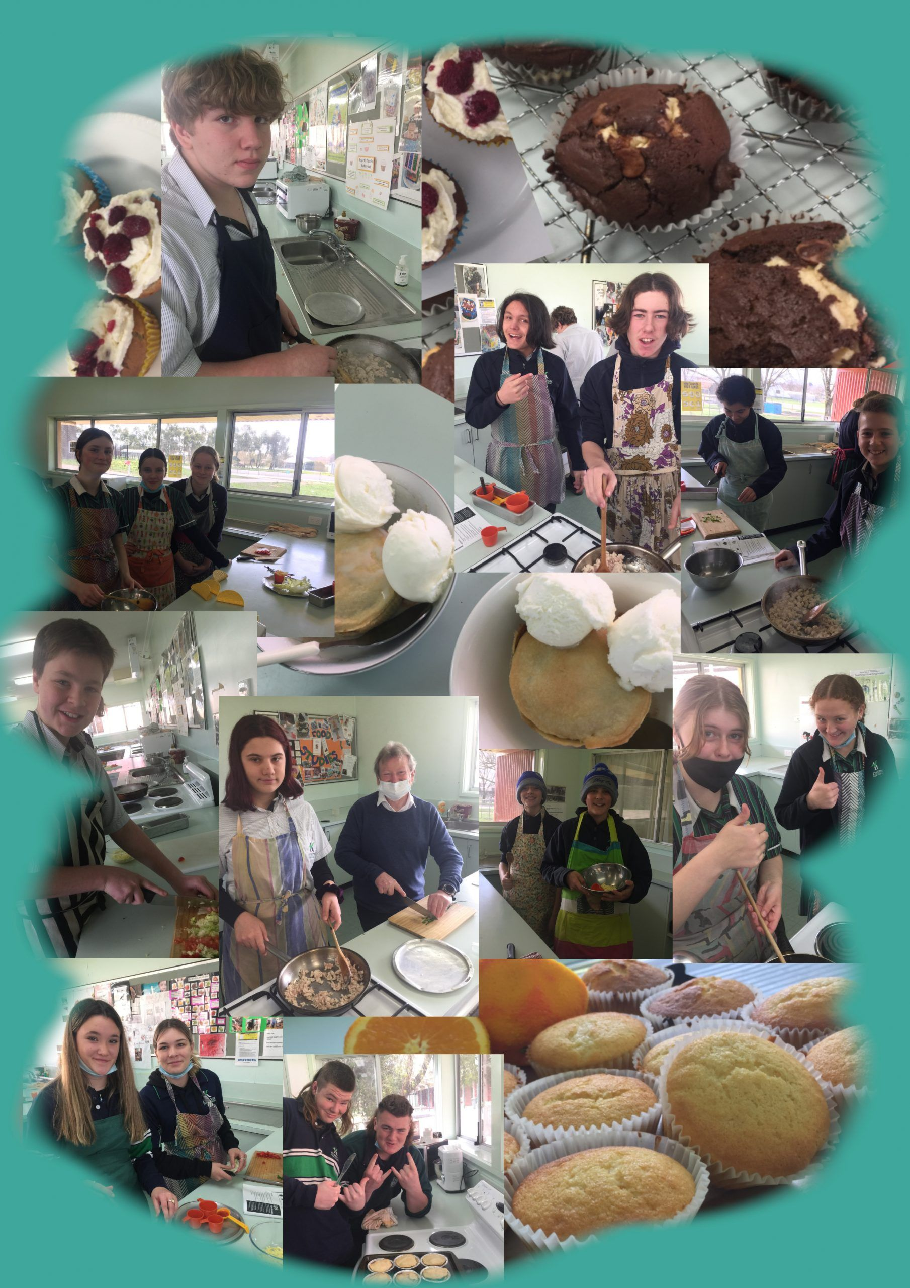Muffins n tacos scaled - Kyneton High School - Excellence in Teaching & Learning