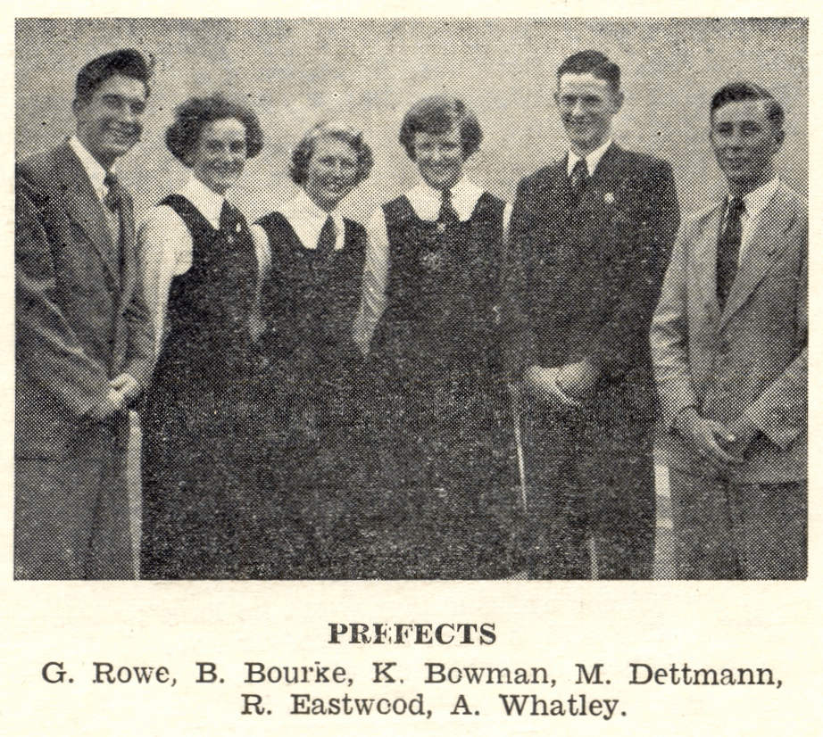 1952 The magazine of the Kyneton High School Page 006 Prefects - Kyneton High School - Excellence in Teaching & Learning