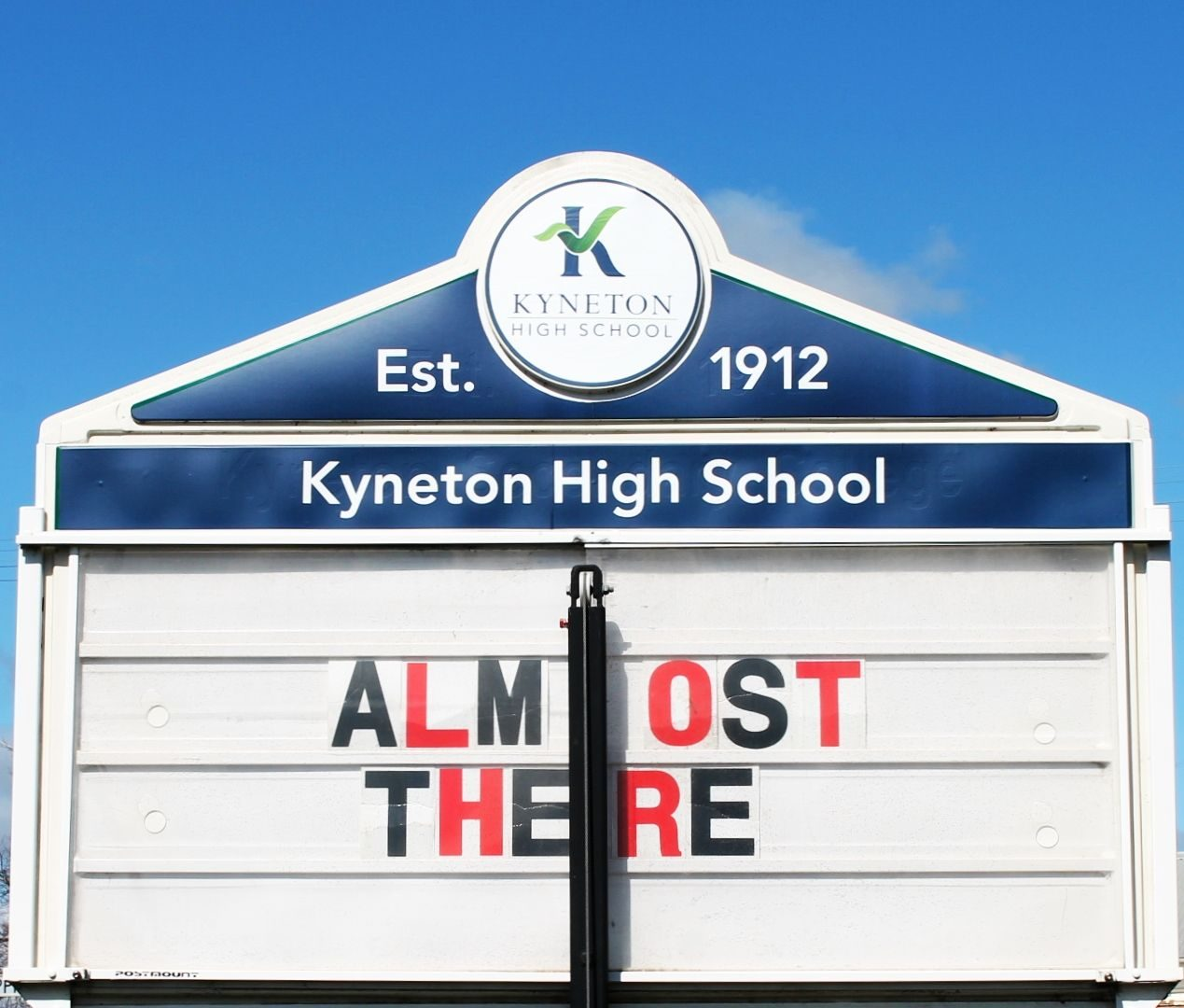 Almost there e1631599700391 - Kyneton High School - Excellence in Teaching & Learning