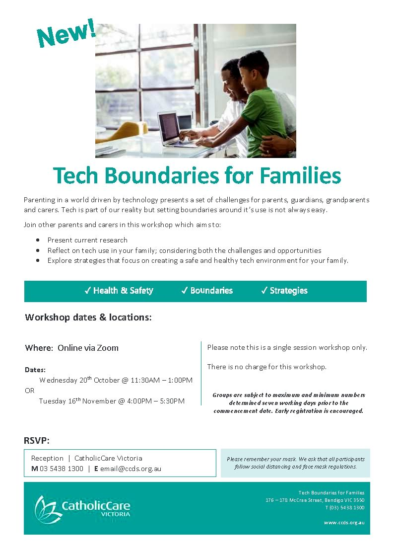 Tech Boundaries for Families - Kyneton High School - Excellence in Teaching & Learning